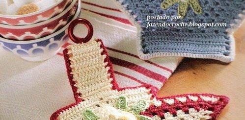 Adorno de crochet