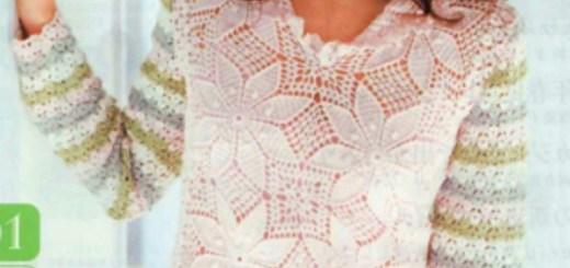 Blusas tejidas a crochet