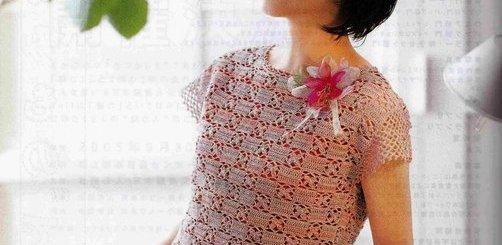 Blusas tejidas para dama