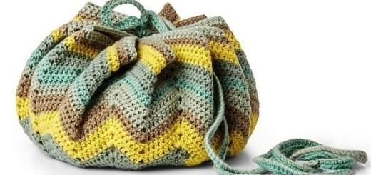 Bolso crochet para bebé