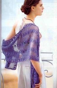 Chal crochet formal