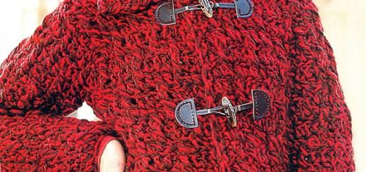 Chaleco de crochet fácil
