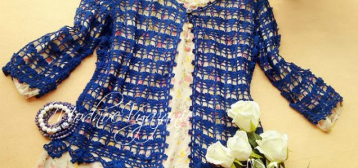 Chalecos tejidos patrones