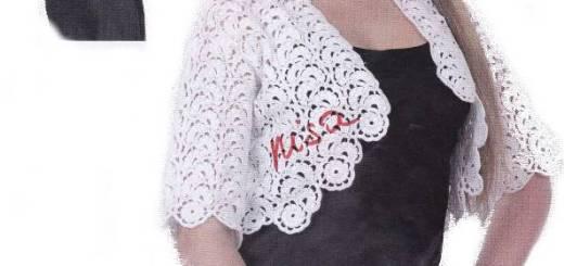 Crochet patrones bolero