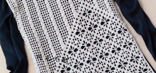 Crochet polera mujer