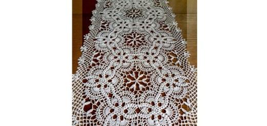 Crochet tapete