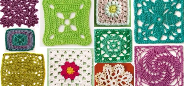Cuadros tejidos a crochet