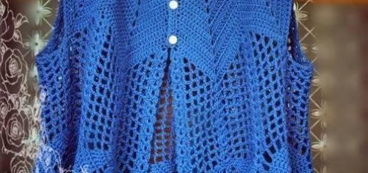 Ganchillo blusa
