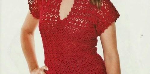 Gancho blusa formal