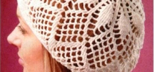 Gorros tejidos para mujer