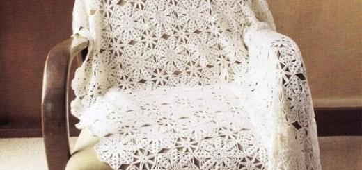 Manta crochet facil
