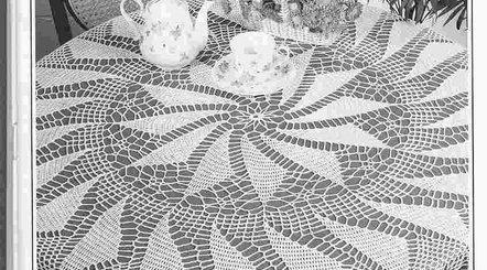 Manteles de mesa tejidos
