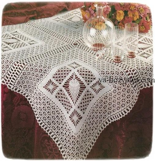 Motivo Crochet Manteles Disfrute Crochet Patrones