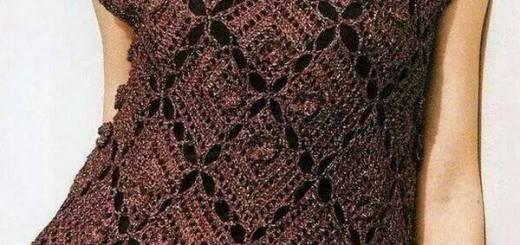 Blusa fácil crochet