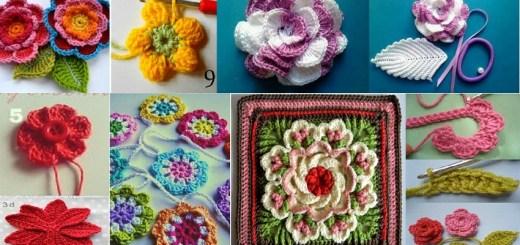 Flores con gancho