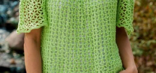 Blusas a crochet de verano