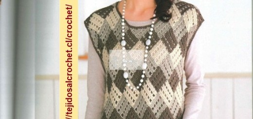 Chalecos de Mujer a Crochet