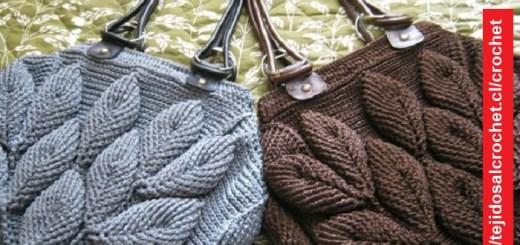 Bolso Crochet 3D