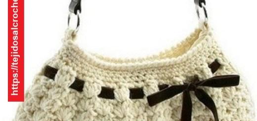 Bolso Crochet con Cinta