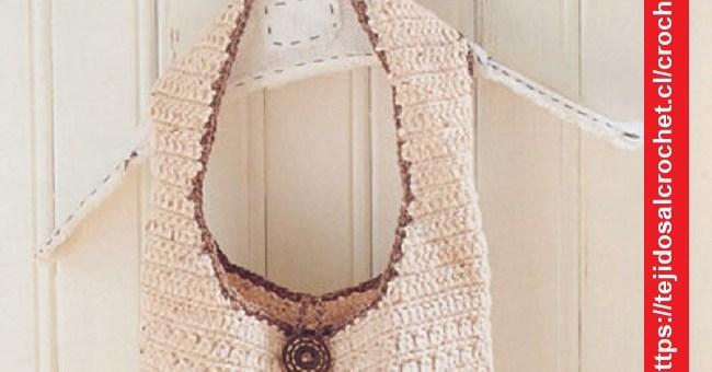 Bolso de Playa Crochet