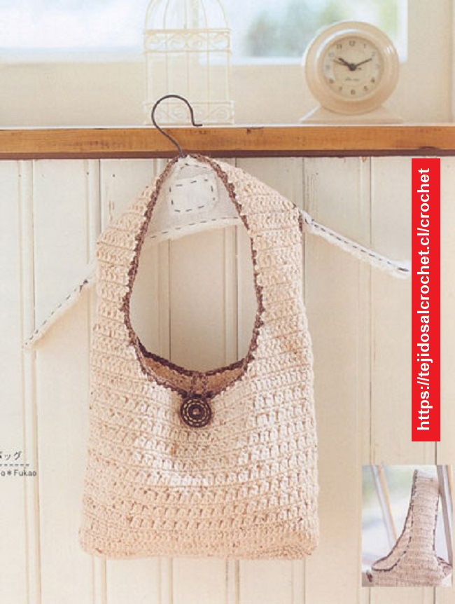 Bolso de Playa Crochet