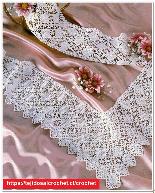 Borde Crochet Elegante