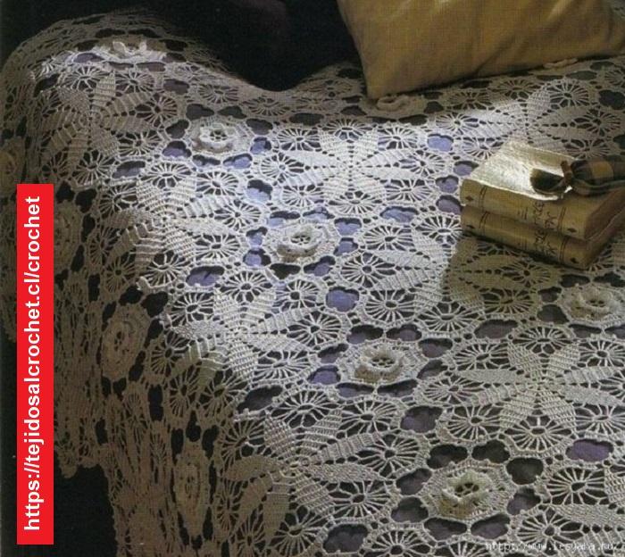 Colcha Estrella Crochet