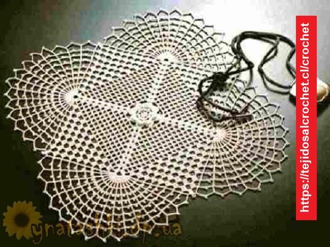 Elegante Servilleta Crochet