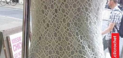 Motivo para vestido Crochet