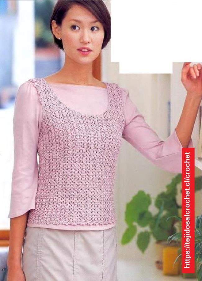 Polera Crochet Jacinta
