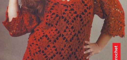 Túnica XL Crochet