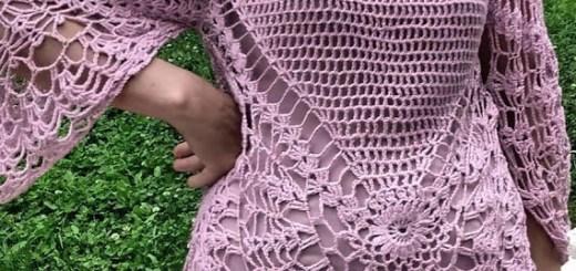 Blusa Crochet Tutorial Calado