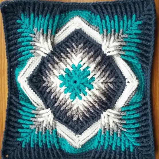 Crochet elemento tutorial paso a paso