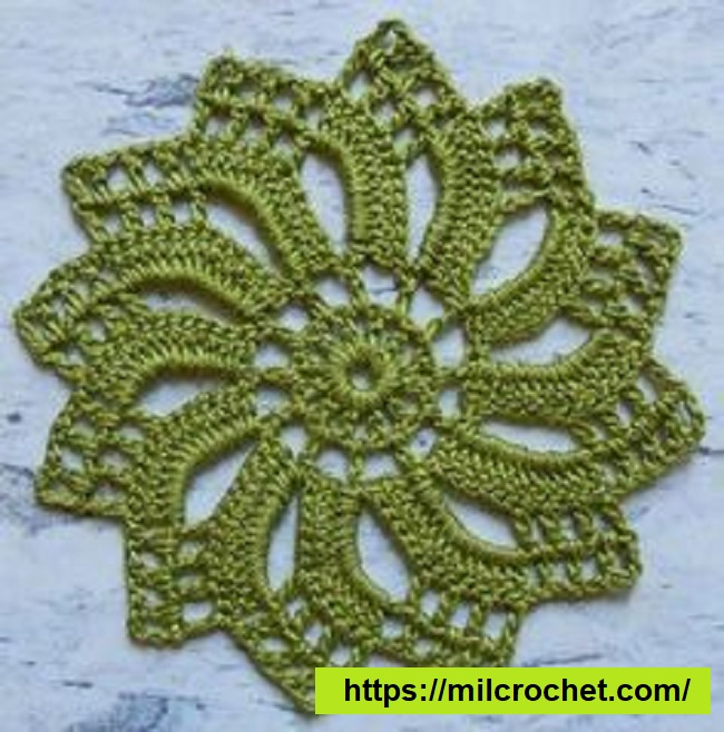 Motivo para Crochet