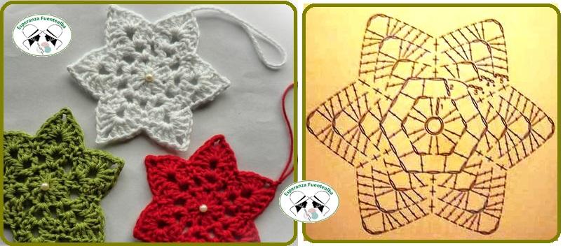 Adornos navideños tejidos a crochet2