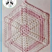 Agarradera al crochet fácil