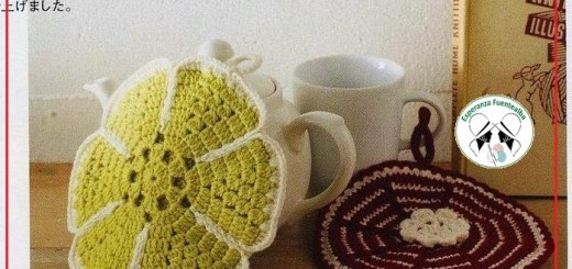 Agarradera de crochet