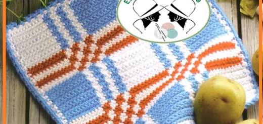 Agarraderas tejidas crochet