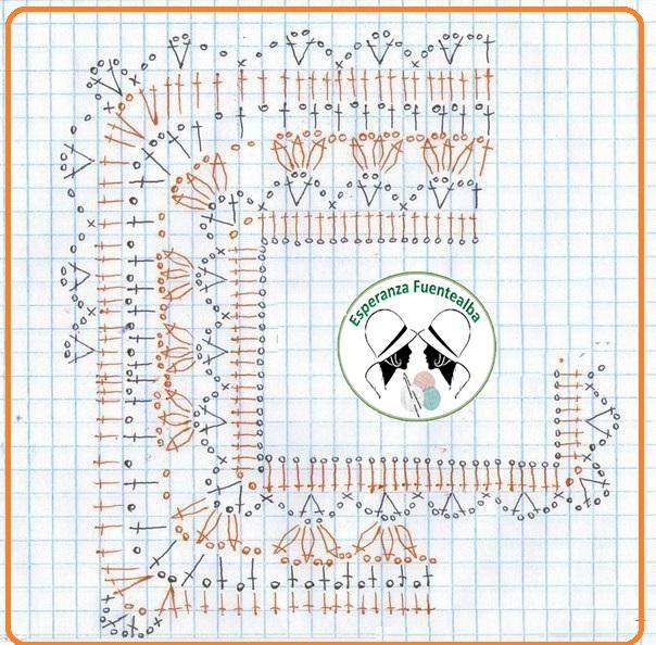 Chaqueta crochet mujer patrones1