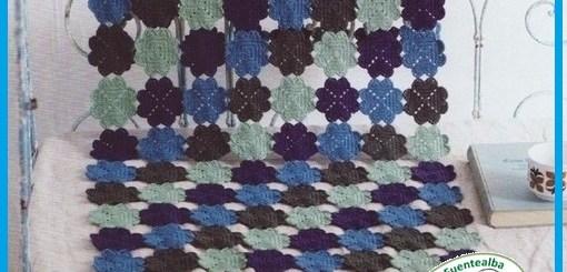 Mantas al crochet