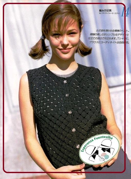 Patrones blusas crochet
