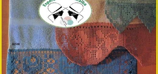 Puntillas a crochet para toallas