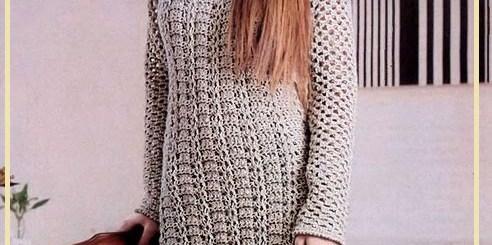 Vestidos a crochet patrones gratis