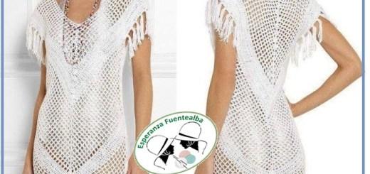 Vestidos con ganchillo