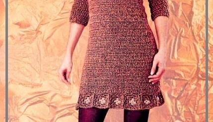 Vestidos crochet mujer