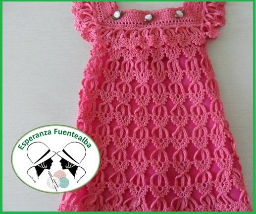 Vestidos niña tejidos
