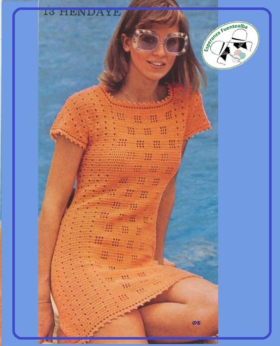 vestidos de ganchillo para mujeres