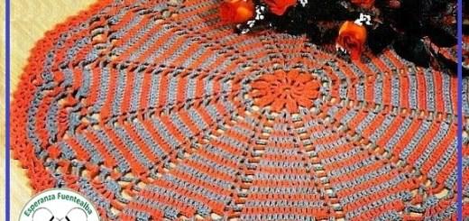 Carpetas de crochet