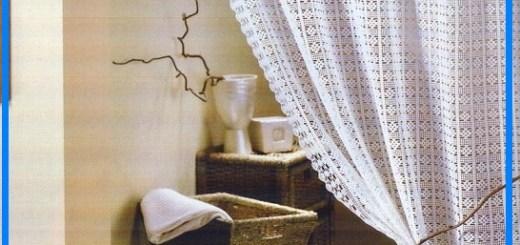 Cortina de crochet