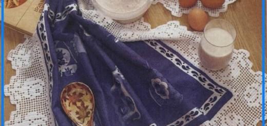 Puntillas de ganchillo para manteles